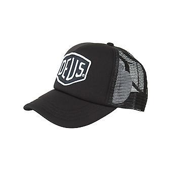Deus Ex Machina Baylands Trucker Hat - Black/white