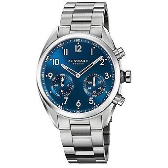 Kronaby S3762-1 Men's Hybrid Smartwatch Steel Bracelet