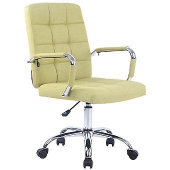 Chaise de bureau - Chaise de bureau - Bureau à domicile - Moderne - Vert - Métal