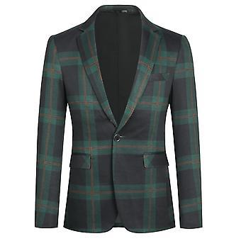 Yunyun Costume décontracté Blazer Veste Business Manteau quotidien