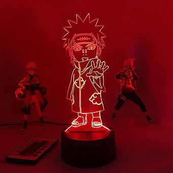3d Led Night Light Lamp Anime Naruto Pein