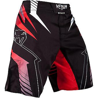 Venum Sharp 3.0 Flex System Closure MMA Fight Shorts - Black/Red