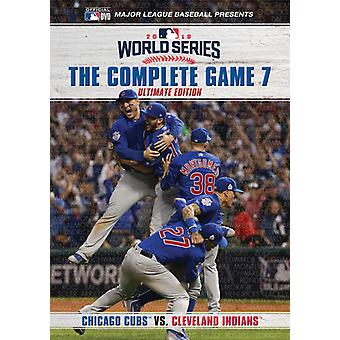 2016 World Series: täydellinen peli 7 [DVD] USA tuonti