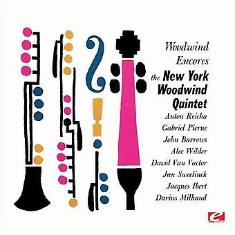 New York Woodwind Quintet - Woodwind Encores [Remastered] [CD] USA import