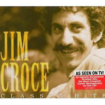 Jim Croce - importation USA Classic Hits de Jim Croce [CD]