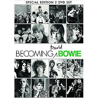 David Bowie - Bowie David-Becoming Bowie [DVD] USA import