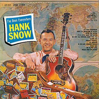 Hank Snow - I'Ve Been Everywhere [CD] USA import