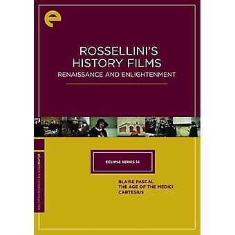 Rossellini's History Films [DVD] USA import