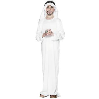 Traje de jeque traje los niños árabes de Oriente