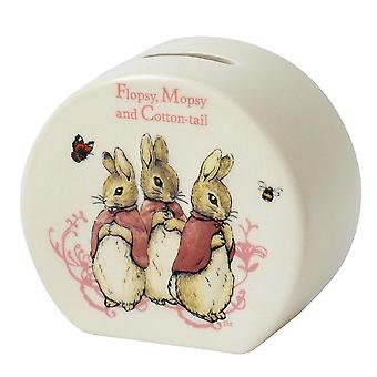 Beatrix Potter Flopsy, Mopsy & Cotton-tail Money Bank