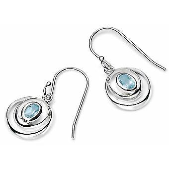 925 Silver Topaz Earring