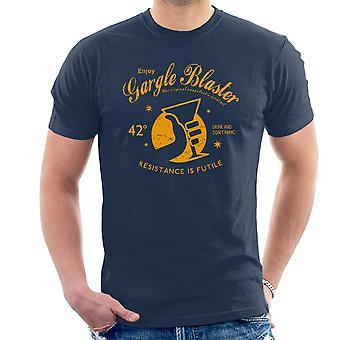 Gurgeln Blaster Hitchhikers Guide Herren T-Shirt