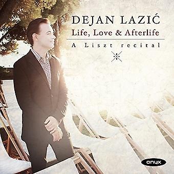 Dejan Lazic - Life & Love & Afterlife: A Liszt Recital [CD] USA import