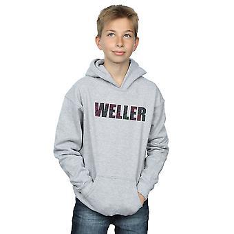 Paul Weller jongens Paisley Logo 2 Hoodie