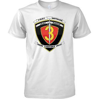 1 Batalion 3 Marines - USMC - wojskowe insygnia - dzieci T Shirt