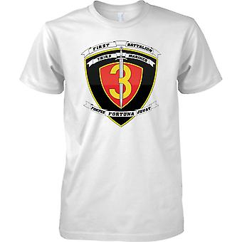 1 bataljon 3dje Marines - USMC - militære emblemer - Kids T skjorte