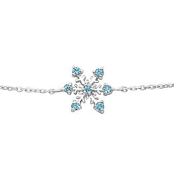 Fiocco di neve - 925 Sterling Silver catena bracciali - W25088X