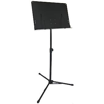 Mad About Orchestral Sheet Music Stand with Page Retainers and Tripod