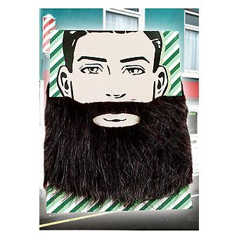 Beards and mustaches  Black-gray beard