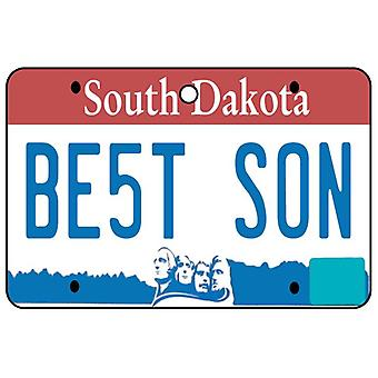 South Dakota - Best Son License Plate Car Air Freshener