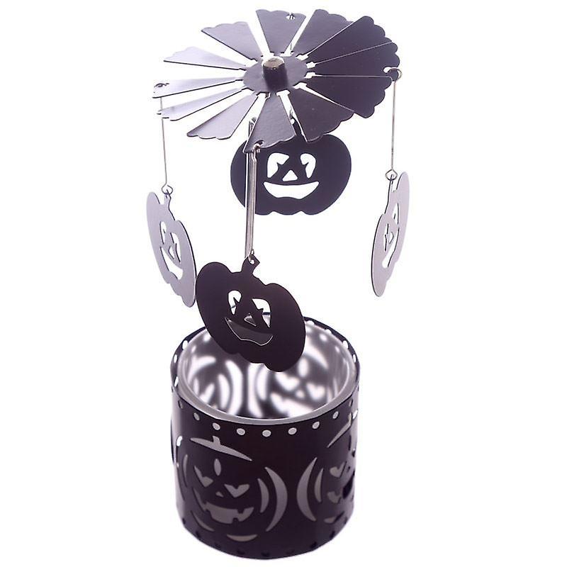 Halloween Pumpkins Tealight Spinner