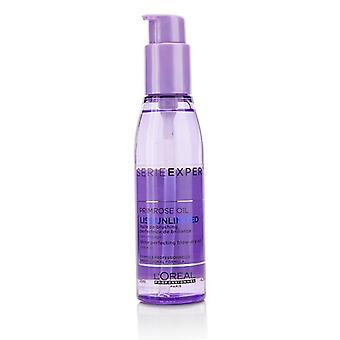 L'oreal Professionnel Serie Expert - Liss Unlimited Primrose Oil Shine Perfecting Blow-dry Oil - 125ml/4.2oz