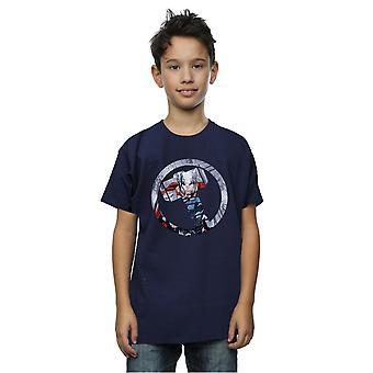 Maravilla chicos Vengadores Thor montaje símbolo t-shirt