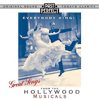 Everybody Sing: Great Songs from the Hollywood Musicals -Audio CD