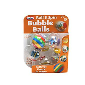 Fun Time Roll And Spin Bubble Activity Balls