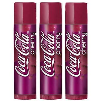 Lip Smacker  Lip Balms - Choose any 3 flavours[Coca Cola Cherry,Coca Cola Cherry,Coca Cola Cherry]