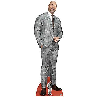 Dwayne Johnson Check Suit Lifesize Cardboard Cutout / Standee
