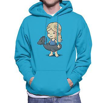 Game Of Thrones Cute Beach Khaleesi Men's Hooded Sweatshirt