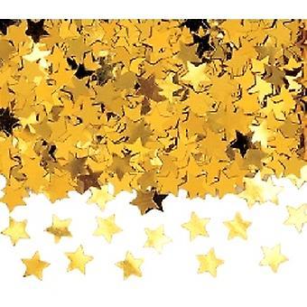 Konfetti Gold Jumbo Sternen Buy 1 Get der anderen Free (2 X Tasche 84g)