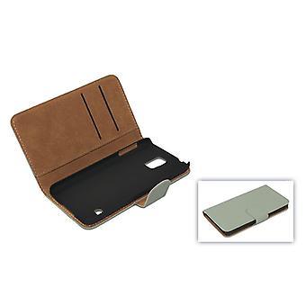 Couvrir les cas pochette (Croix-flip) pour téléphone portable gris iPhone 6 Apple