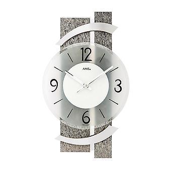 Horloge murale AMS - 9548