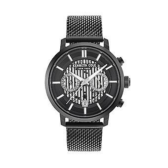 Kenneth Cole New York Herren Uhr Armbanduhr Edelstahl KC50572003