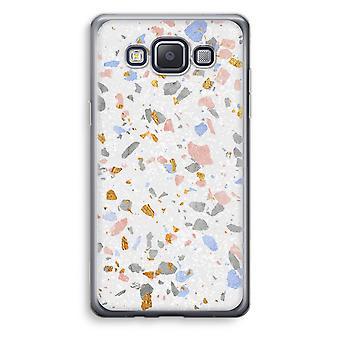 Samsung Galaxy A3 (2015) gjennomsiktig sak (myk) - Terrazzo N ° 8
