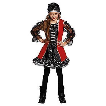 子供たちがルーシー海賊バッカニアの女の子の衣装