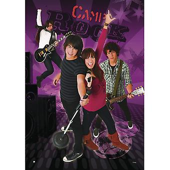 Camp Rock plakat Jonas Brothers & Demi Lovato