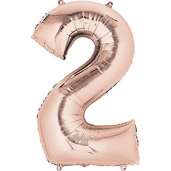 Anagram Supershape Balloon 34 Inch Birthday Number Balloon