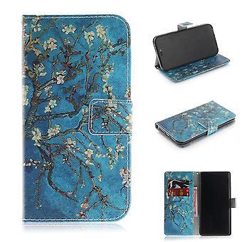 iPhone XR portafoglio sacchetto-albero con i fiori