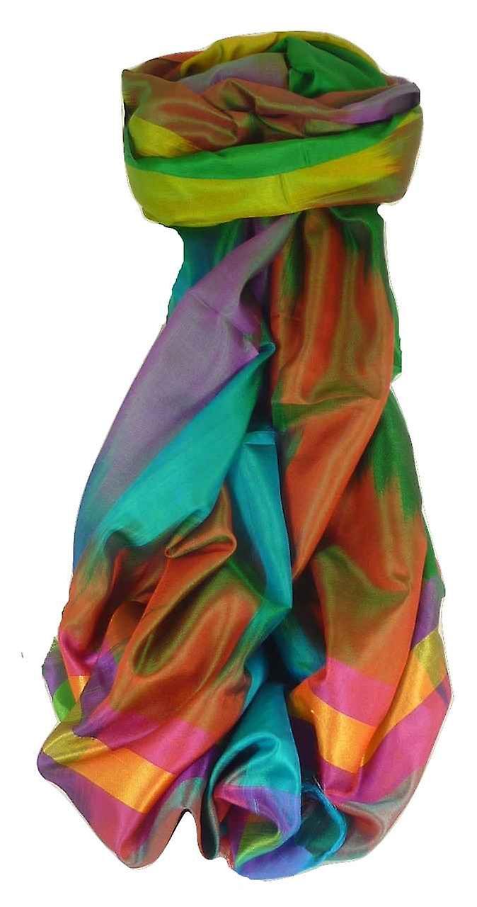 Varanasi Ekal Premium Silk Long Scarf Heritage Range Batra 8 by Pashmina & Silk