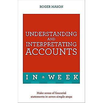 Förstå och tolka konton i en vecka: Vettigt av bokslut i sju enkla steg (undervisa...