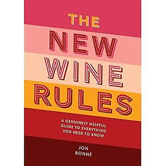 De nieuwe regels voor wijn