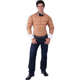 Orion Costumes Mens Male Stripper Muscle Chest Top Rude Stag Do Fancy Dress