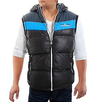 Men vest luxury Coast vest jacket black Vest Hoodie Hooded