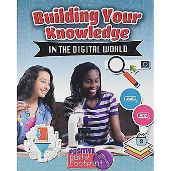 Bauen Ihr Wissen in der digitalen Welt (Ihre positiven digitalen Fußabdruck)