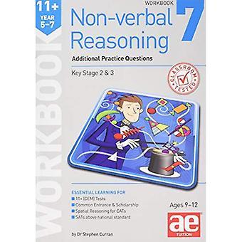 11 + icke-verbala resonemang år 5-7 arbetsbok 7: ytterligare CEM stil övningsfrågor
