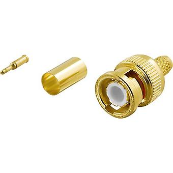 Crimp connector for coaxial cabling DEL-668
