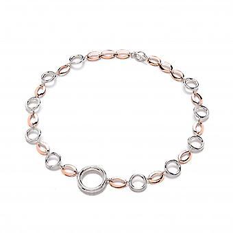Cavendish francese in argento e anelli in rame e ovali collana